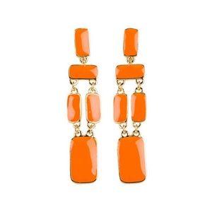 Kate Spade Orange Park Guell Long Earrings